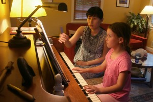 Teaching music lessons is a great way to make extra income.