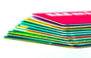 Get creative about recycling expired credit cards.