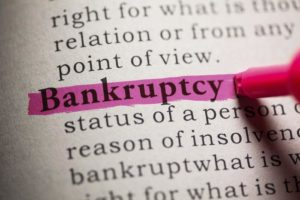 various types of bankruptcy