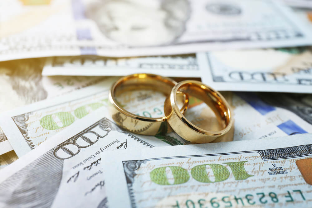money questions before you say I do