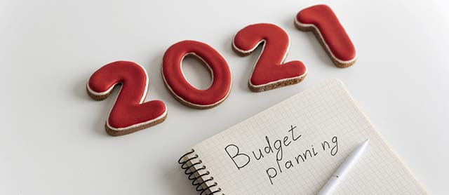 budget for 2021